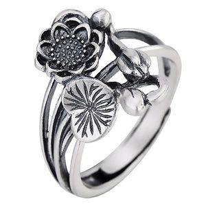 Princess Kylie 925 Sterling Silver Twin Flower of The Lily Ring